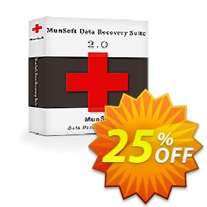 MunSoft Data Recovery Suite discount coupon MunSoft coupon (31351) - MunSoft discount promotion