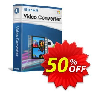 iStonsoft Video Converter Coupon discount 60% off. Promotion: