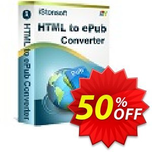 iStonsoft HTML to ePub Converter Coupon discount 60% off -