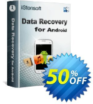 iStonsoft Data Recovery for Android (Mac Version) discount coupon 60% off -
