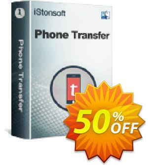 iStonsoft Phone Transfer for Mac Coupon, discount Affiliate 60% OFF. Promotion: 60% off