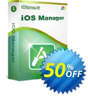 iStonsoft iOS Manager Coupon, discount Affiliate 60% OFF. Promotion: 60% off