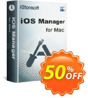 iStonsoft iOS Manager for Mac Coupon discount 60% off -