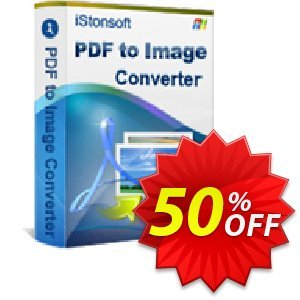 iStonsoft PDF to Image Converter Coupon, discount Affiliate 60% OFF. Promotion: