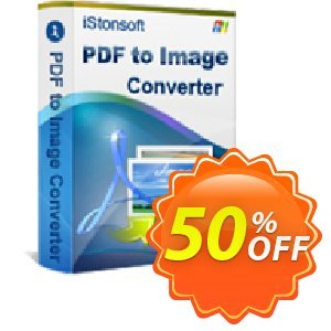 iStonsoft PDF to Image Converter Coupon, discount 60% off. Promotion: