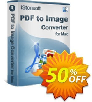iStonsoft PDF to Image Converter for Mac Coupon, discount 60% off. Promotion: