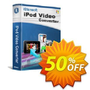 iStonsoft iPod Video Converter discount coupon 60% off -