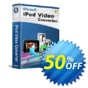 iStonsoft iPod Video Converter Coupon, discount 60% off. Promotion: