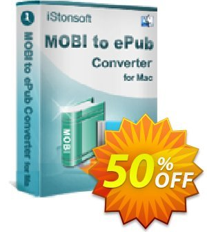 iStonsoft MOBI to ePub Converter for Mac Coupon, discount Affiliate 60% OFF. Promotion:
