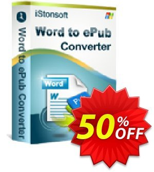 iStonsoft Word to ePub Converter Coupon, discount Affiliate 60% OFF. Promotion: