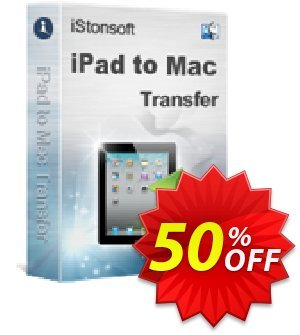 iStonsoft iPad to Mac Transfer Gutschein rabatt 60% off Aktion: