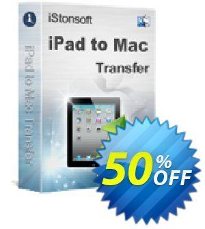 iStonsoft iPad to Mac Transfer Coupon, discount 60% off. Promotion: