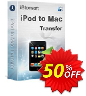 iStonsoft iPod to Mac Transfer Coupon discount 60% off. Promotion: