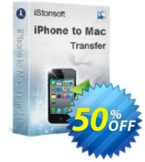 iStonsoft iPhone to Mac Transfer Coupon discount 60% off. Promotion: