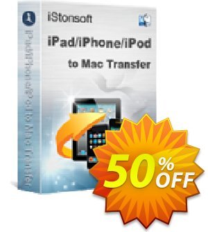 iStonsoft iPad/iPhone/iPod to Mac Transfer Coupon, discount Affiliate 60% OFF. Promotion: