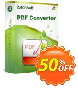 iStonsoft PDF Converter Coupon, discount 60% off. Promotion: