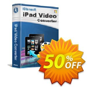 iStonsoft iPad Video Converter Coupon, discount Affiliate 60% OFF. Promotion: