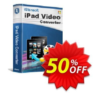 iStonsoft iPad Video Converter Coupon, discount 60% off. Promotion: