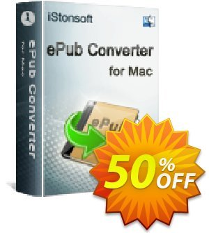 iStonsoft ePub Converter for Mac discount coupon 60% off -