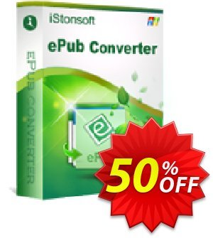 iStonsoft ePub Converter Coupon discount 60% off. Promotion: