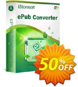 iStonsoft ePub Converter Coupon, discount 60% off. Promotion: