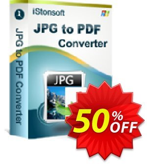 iStonsoft JPG to PDF Converter Coupon discount 60% off. Promotion: