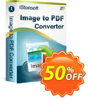 iStonsoft Image to PDF Converter Coupon, discount 60% off. Promotion: