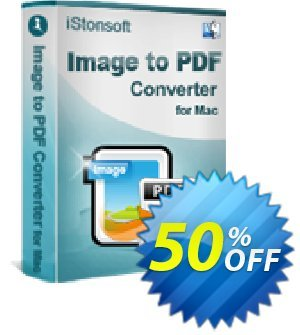 iStonsoft Image to PDF Converter for Mac discount coupon 60% off -