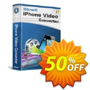 iStonsoft iPhone Video Converter discount coupon 60% off -