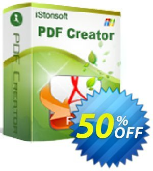 iStonsoft PDF Creator Coupon, discount Affiliate 60% OFF. Promotion: