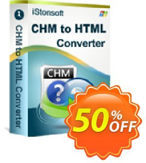 iStonsoft CHM to HTML Converter Coupon, discount Affiliate 60% OFF. Promotion:
