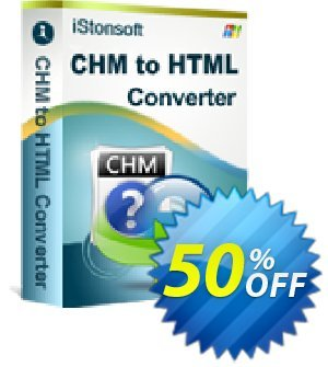 iStonsoft CHM to HTML Converter Coupon discount 60% off -