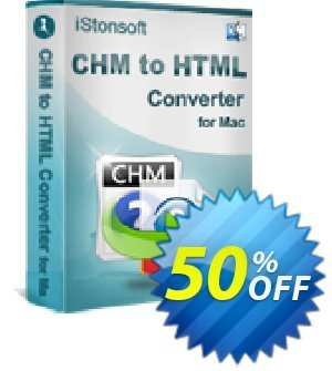 iStonsoft CHM to HTML Converter for Mac discount coupon 60% off -
