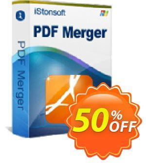 iStonsoft PDF Merger Coupon, discount Affiliate 60% OFF. Promotion: