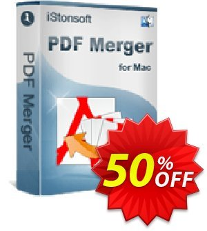 iStonsoft PDF Merger for Mac Coupon, discount 60% off. Promotion: