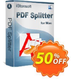 iStonsoft PDF Splitter for Mac Coupon, discount Affiliate 60% OFF. Promotion: