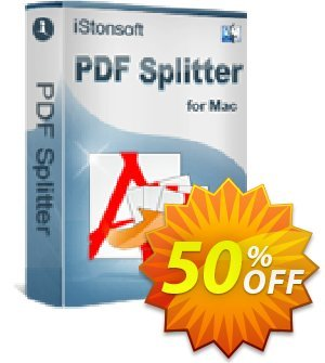 iStonsoft PDF Splitter for Mac Coupon, discount 60% off. Promotion: