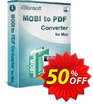 iStonsoft MOBI to PDF Converter for Mac Coupon, discount Affiliate 60% OFF. Promotion: