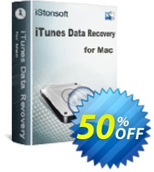 iStonsoft iTunes Data Recovery for Mac discount coupon 60% off -