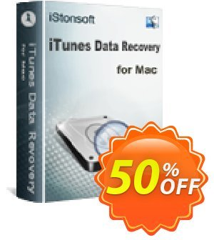iStonsoft iTunes Data Recovery for Mac Coupon, discount 60% off. Promotion: