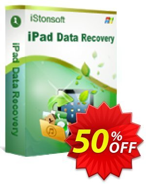 iStonsoft iPad Data Recovery discount coupon 60% off -