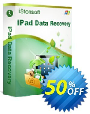 iStonsoft iPad Data Recovery Coupon, discount 60% off. Promotion:
