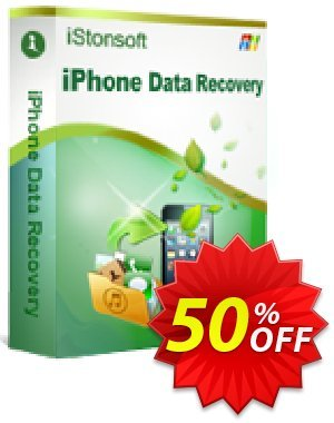 iStonsoft iPhone Data Recovery Coupon discount 60% off -