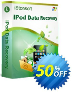 iStonsoft iPod Data Recovery discount coupon 60% off -