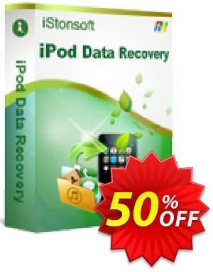 iStonsoft iPod Data Recovery Coupon, discount 60% off. Promotion: