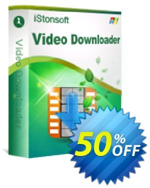 iStonsoft Video Downloader discount coupon 60% off -