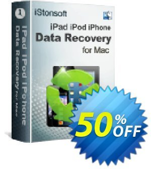 iStonsoft iPad/iPod/iPhone Data Recovery for Mac Coupon discount 60% off. Promotion: