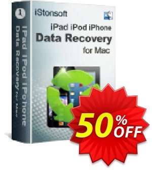 iStonsoft iPad/iPod/iPhone Data Recovery for Mac Coupon, discount 60% off. Promotion: