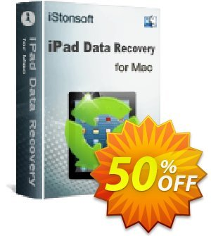 iStonsoft iPad Data Recovery for Mac discount coupon 60% off -