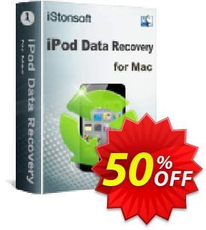 iStonsoft iPod Data Recovery for Mac discount coupon 60% off -